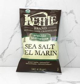 Kettle Kettle Brand - Organic Chips, Sea Salt (170g)