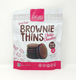 Lillabee Lillabee - Brownie Thins, Classic Chocolate (113g)