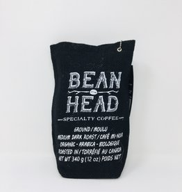 Bean Head Bean Head - Coffee, Ground (340g)