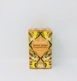 Pukka Pukka - Tea, Lemon Ginger & Manuka Honey