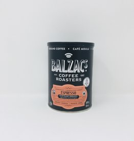 Balzac's Coffee Roasters Balzacs Coffee Roasters - Espresso Fine Ground (300g can)