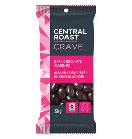 Central Roast Central Roast - Crave, Dark Chocolate Almonds (50g)