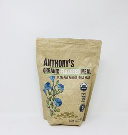Anthony's Anthonys Goods - Flax Seed Meal (1.13kg)
