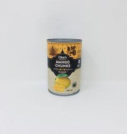 Cha's Organics Chas Organics - Mango Chunks in Juice (400ml)