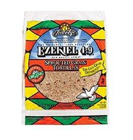 Food for Life FFL - Wraps, Ezekiel 4:9 Sprouted Grain Torillas