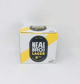 Neal Brothers Neal Brothers - Non Alcoholic Beer, Light (4pk)