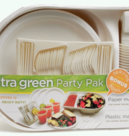 On Green Go Party Pack - Compostable Dish Set
