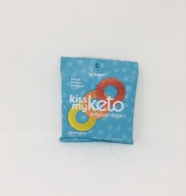 Kiss My Keto Kiss My Keto - Gummies, Tropical Rings