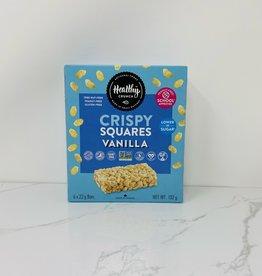 Healthy Crunch Healthy Crunch - Crispy Rice Squares, Vanilla
