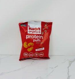 Iwon Organics Iwon Organics - Protein Puffs, Red Pepper