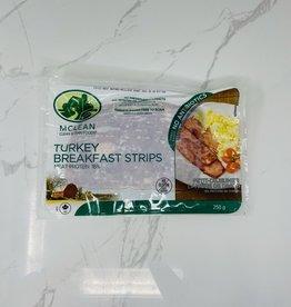 McLean Meats McLean Meats - Bacon, Turkey (250g)