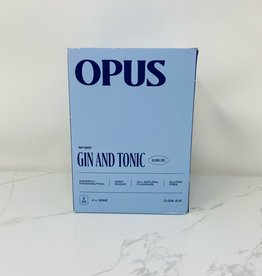 Opus Opus - Non Alcoholic Cocktails, Gin & Tonic (4pk)