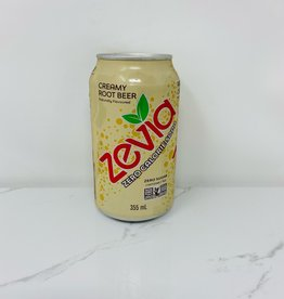 Zevia Soda Zevia - Soda, Creamy Root Beer (single)