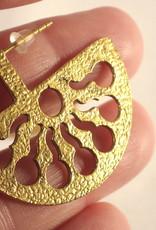Boho Gal Jewelry Mana Textured Earrings
