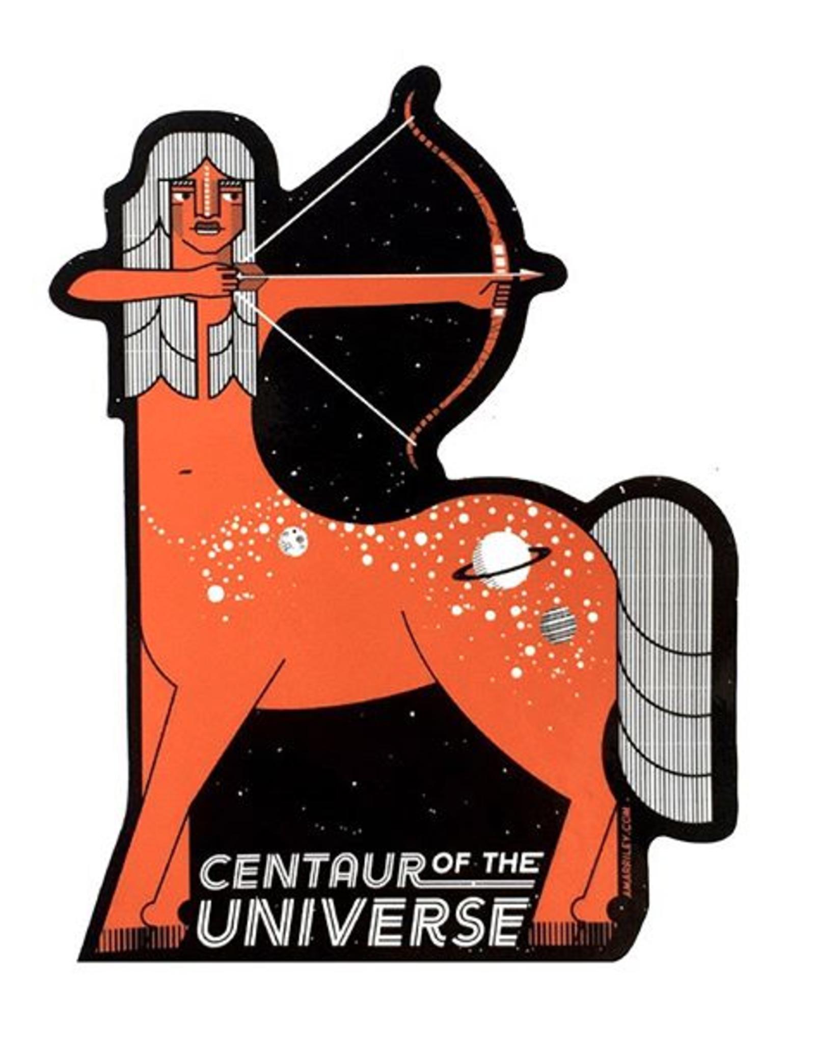 """Amar & Riley """"Centaur of the Universe"""" Sticker - Amar&Riley"""