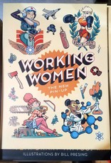 Working Women: The New Pin-Up Temporary Tattoos