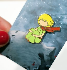 Stasia Burrington ''Little Prince'' Enamel Pin - Stasia Burrington