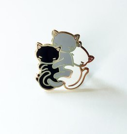 Stasia Burrington ''Kitty Spoon'' Enamel Pin  - Stasia Burrington
