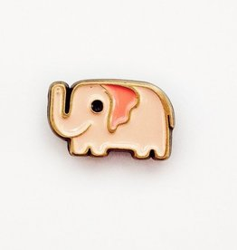 ''Pink Elephant'' Enamel Pin - Susie Ghahremani