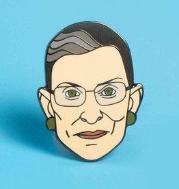 Dissent Pins ''Ruth Bader Pinsburg'' Enamel Pin - Dissent Pins