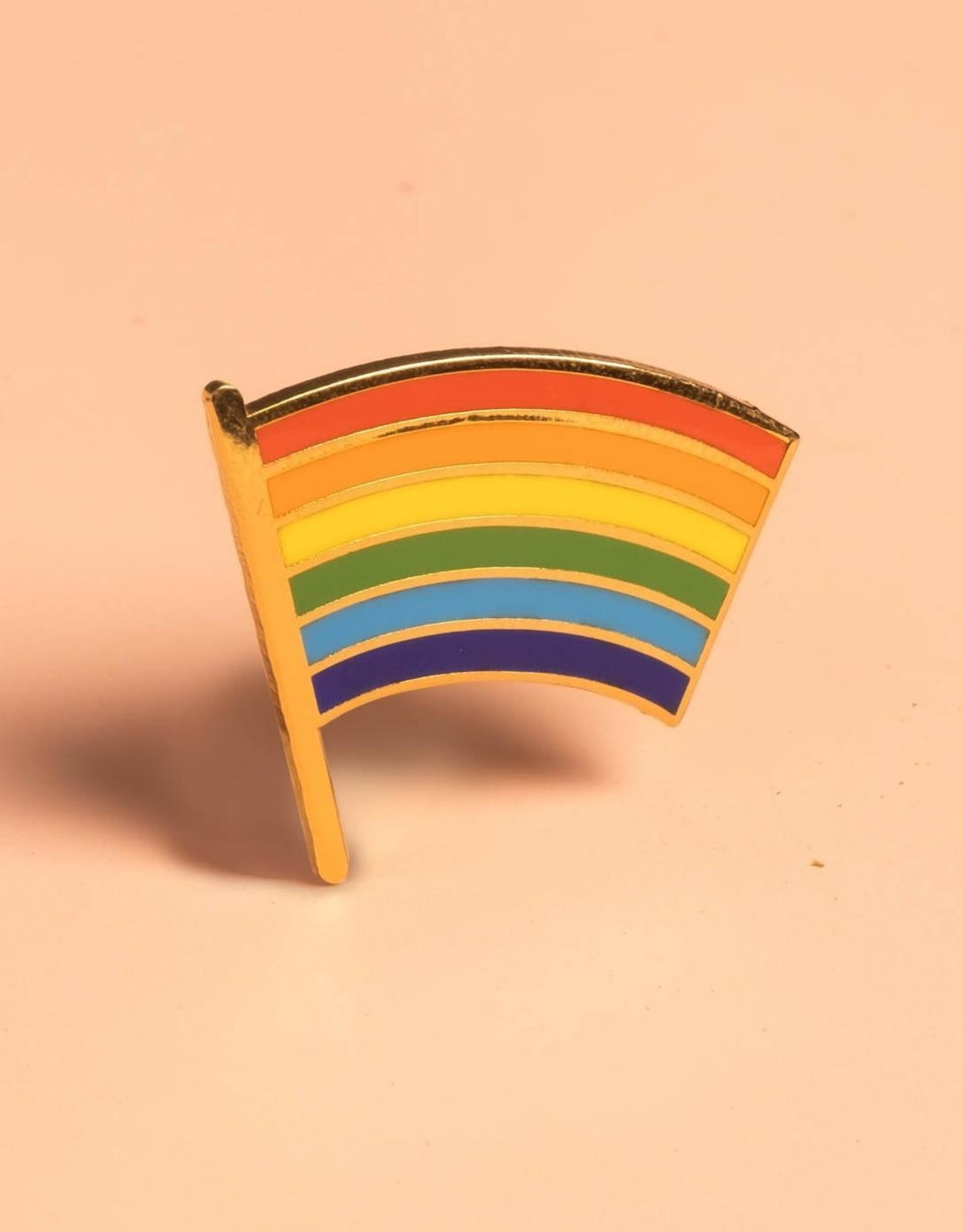 Dissent Pins Pride Flag Enamel Pin  - Dissent Pins