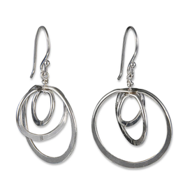 Peter James Jewelry Sterling Silver Layered Hoop Earrings, Small - Peter James Jewelry