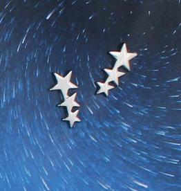 Star Cluster Post Earrings