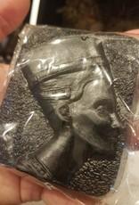 Coph Nia Apothecary Nefertiti; Jasmine + Rose Activated Charcoal Soap