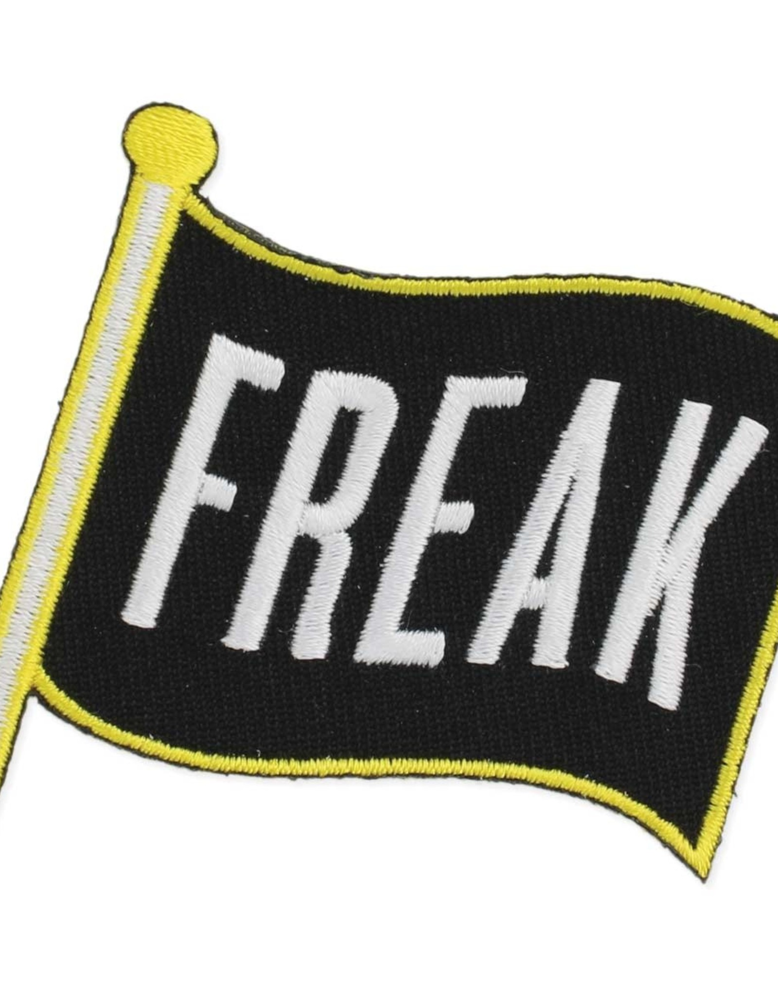 """Let Your Freak Flag Fly"" Iron On Patch"