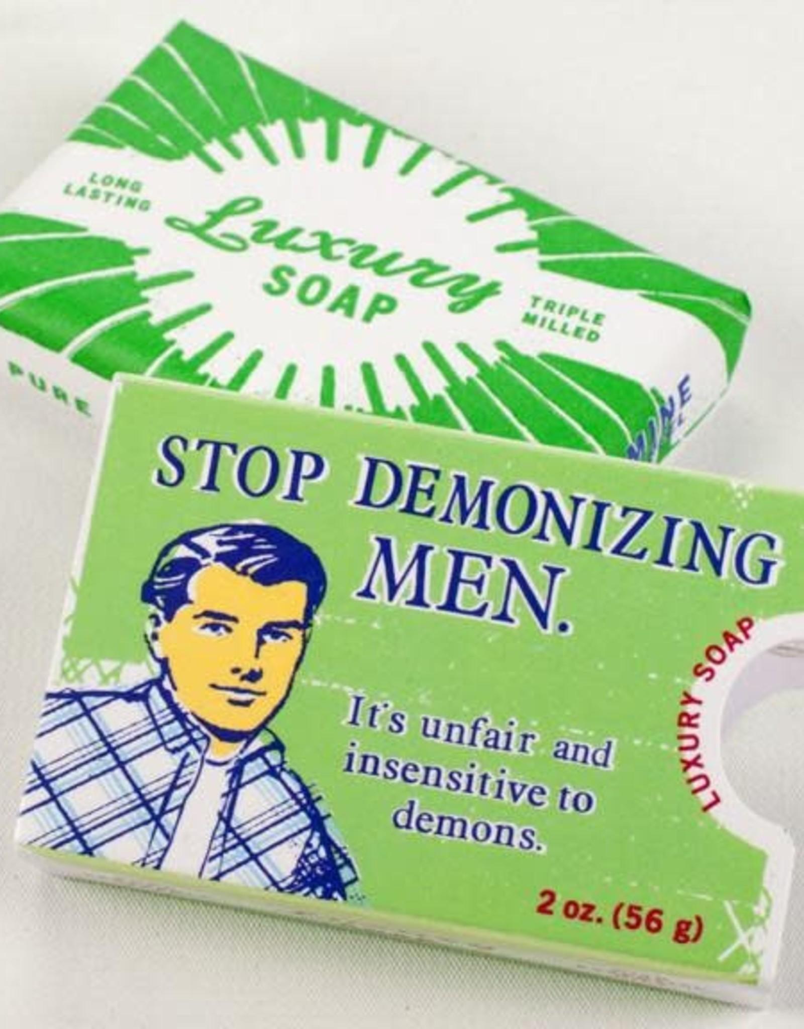 Blue Q Stop Demonizing Men - Soap by Blue Q