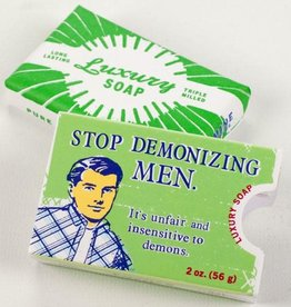 Blue Q Stop Demonizing Men - Soap by Blue Q