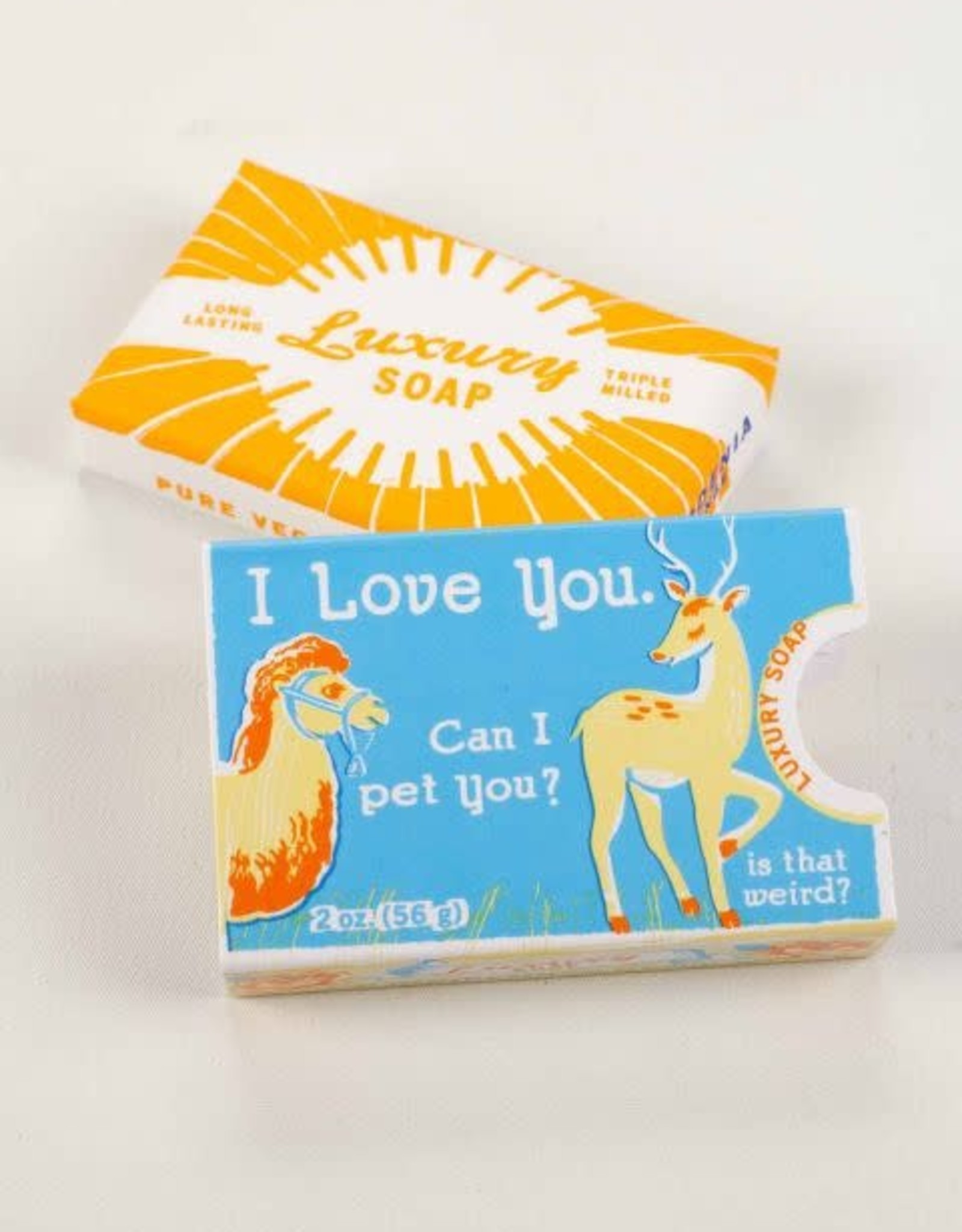 Blue Q I love you - Soap by Blue Q