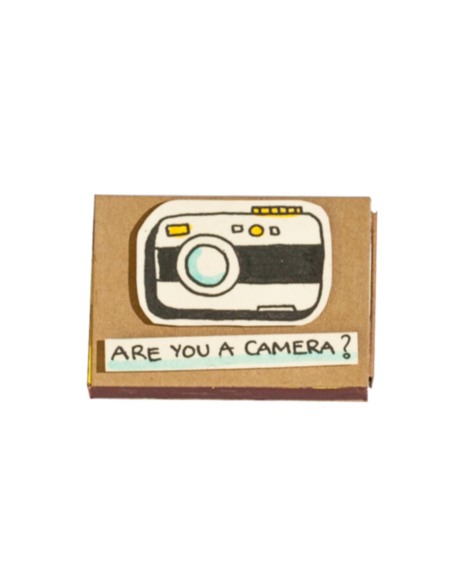 Matchbox Card Are You a Camera