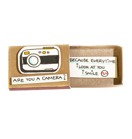 Matchbox Card Are You a Camera