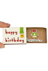 Matchbox Card Birthday Level Up