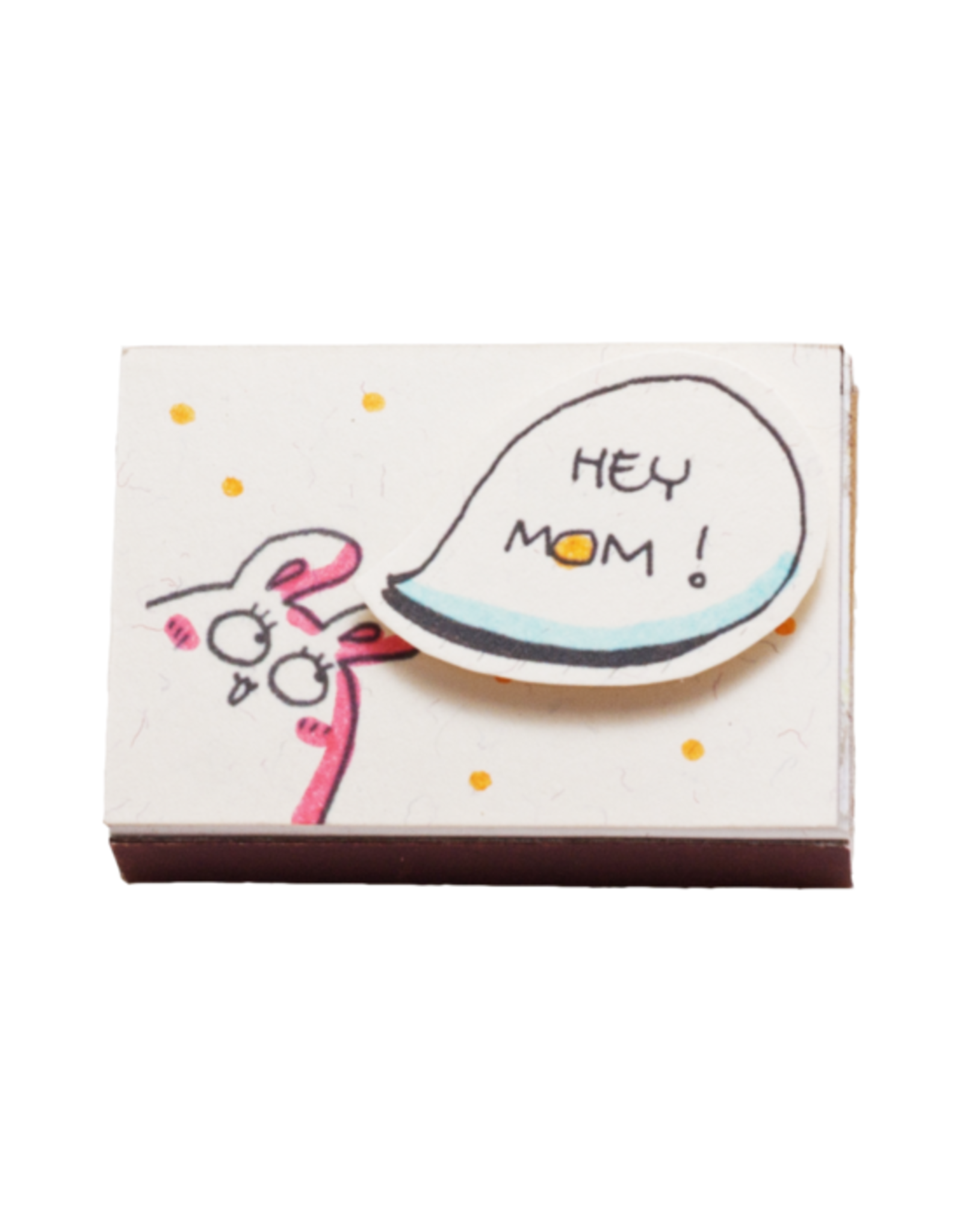 Matchbox Greeting Card - Hey Mom, You're Awesome
