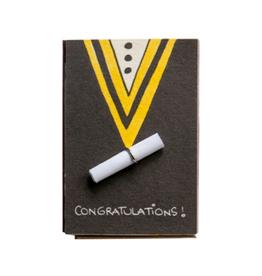 Matchbox Card Congratulations Graduate