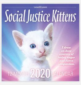 Social Justice Kittens 2020 Wall Calendar - Sean Tejaratchi