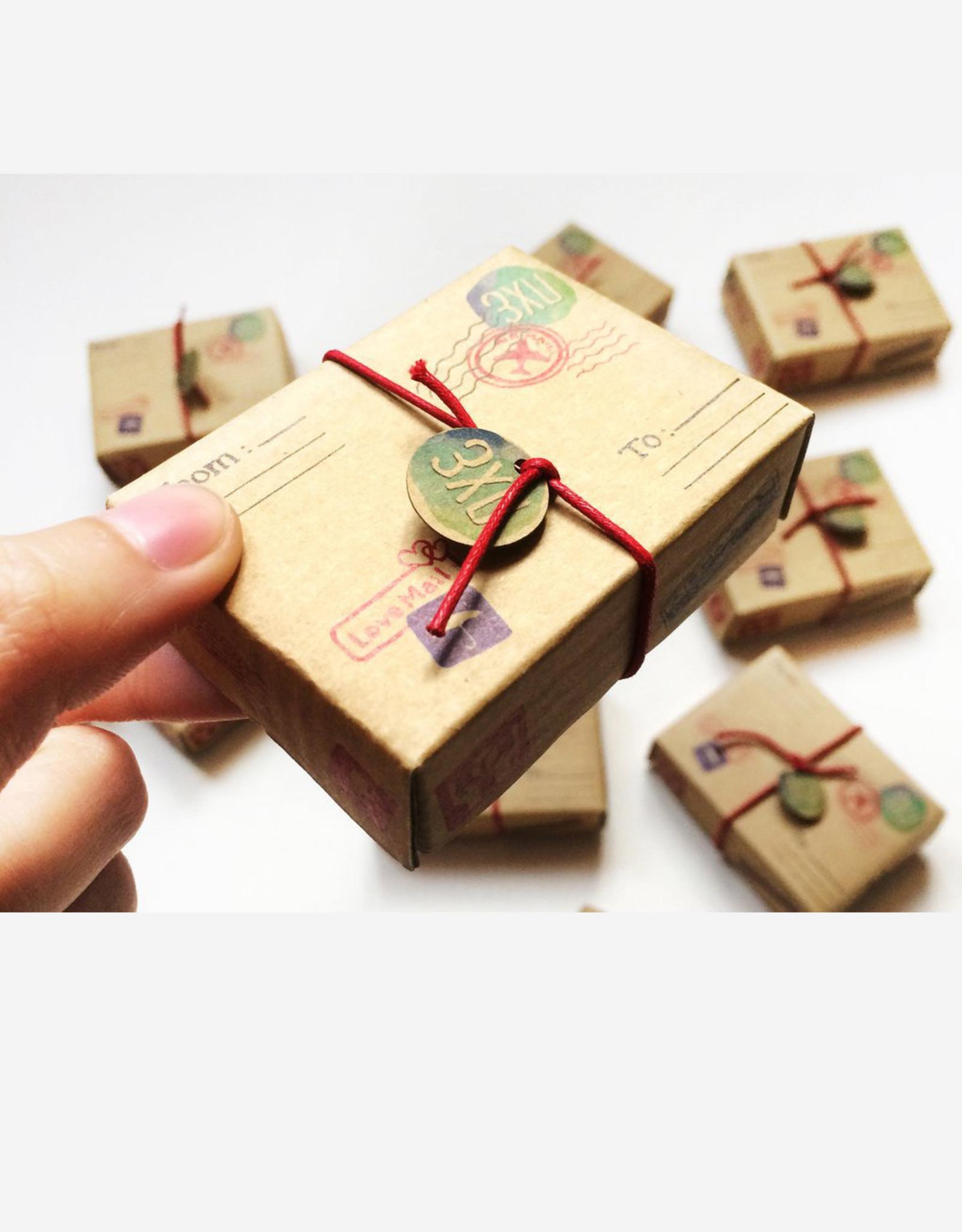 Matchbox Card Good Friends Are Like Stars