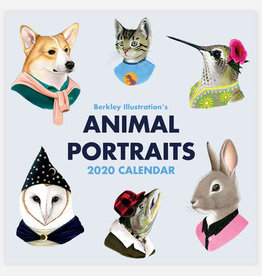 2020 Animal Portraits Wall Calendar - Ryan Berkley