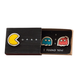 Matchbox Card I Found You Pac Man