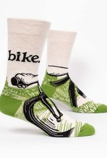 Blue Q Bike Path - Men's Crew Socks