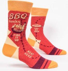 Blue Q BBQ - Men's Crew Socks