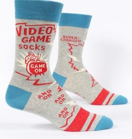 Blue Q Video Game - Men's Crew Socks