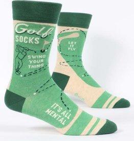 Blue Q Golf - Men's Crew Socks