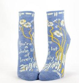 Blue Q Whole Lotta Lovely - Women's Ankle Socks