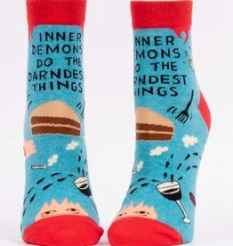Blue Q Inner Demons - Women's Ankle Socks