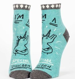 Blue Q Special Unicorn - Women's Ankle Socks
