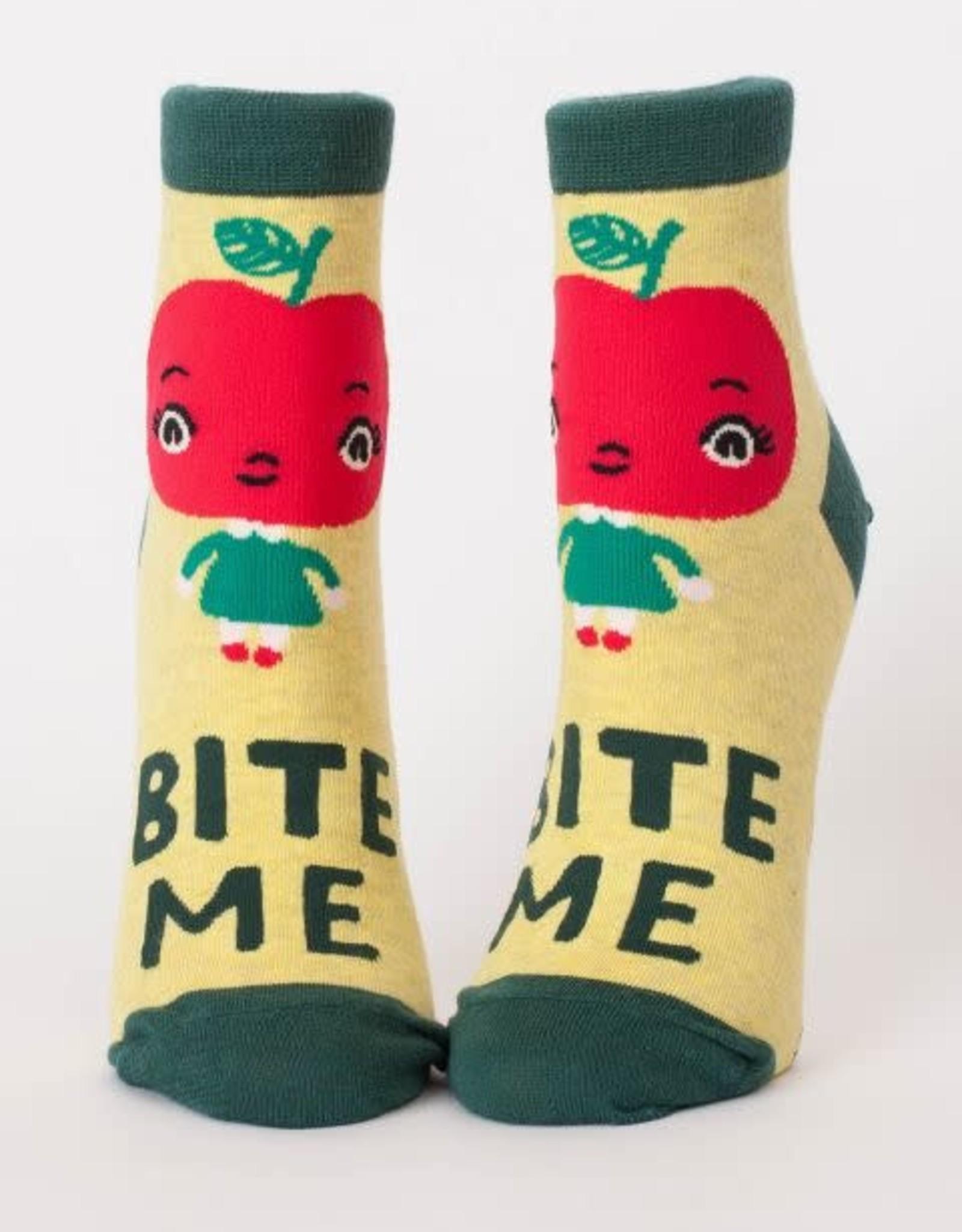 Blue Q Bite Me Ankle Socks - Women's Ankle Socks