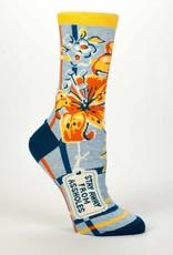 Blue Q Stay Away From Assholes - Women's Ankle Socks